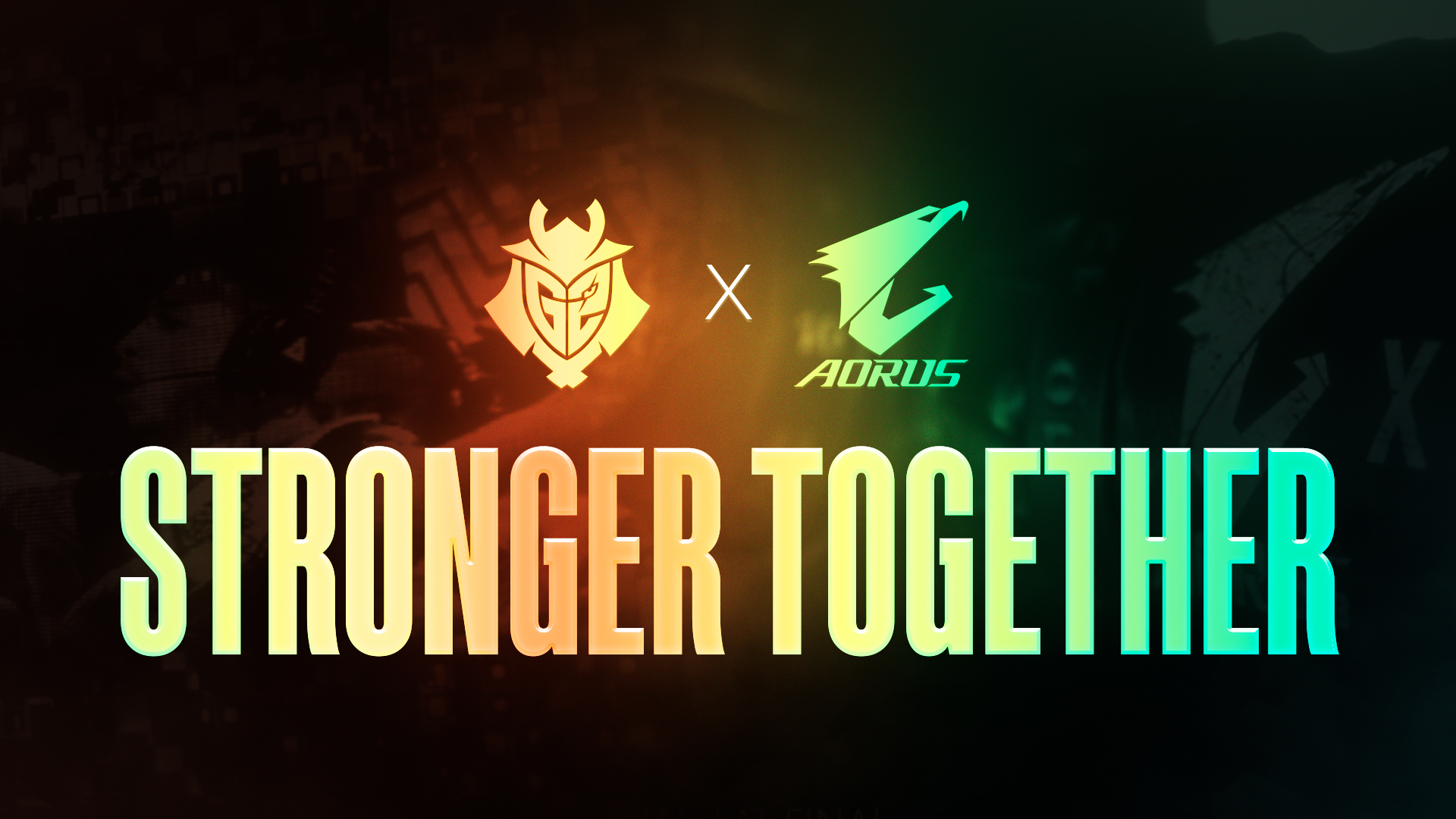 GIGABYTE AORUS and G2 Esports Renew Partnership for a 4th Term